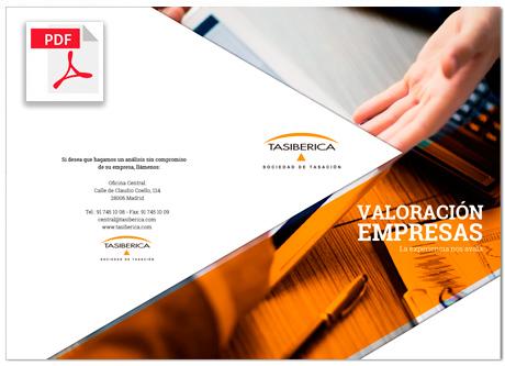Valoraciones de empresas Tasiberica