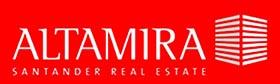 Logo y enlace de www.altamirainmuebles.com