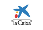 Logo y enlace de www.lacaixaresearch.com