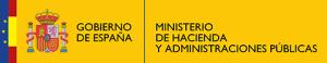 Logo y enlace de www.minhap.gob.es