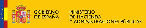 Logo Ministerio de hacienda y administraciones públicas