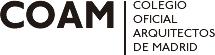 Logo y enlace de www.coam.org