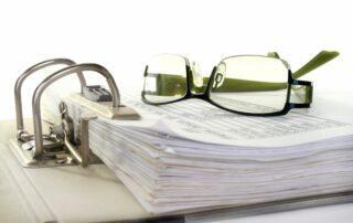 Información de un informe de tasación