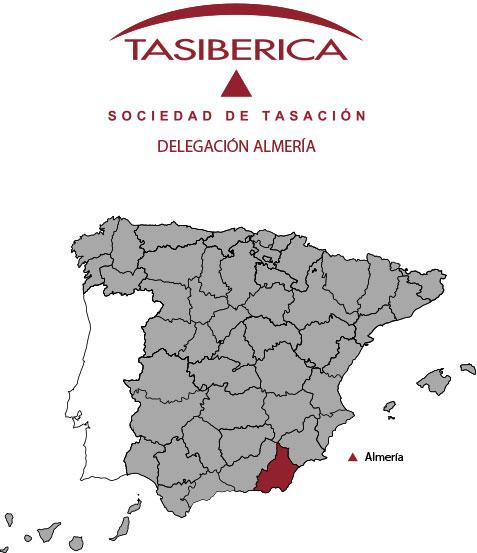 tasiberica tasaciones Delegacion Almeria