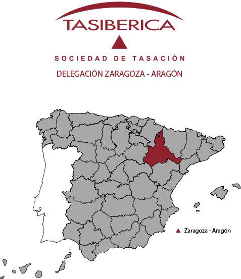 tasiberica tasaciones Delegacion Zaragoza Aragon