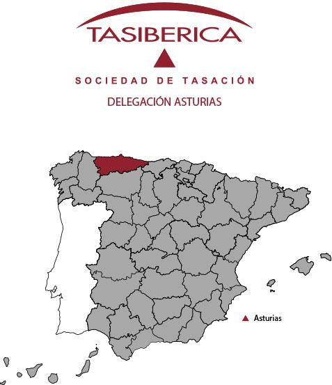 tasiberica tasaciones Delegacion Asturias