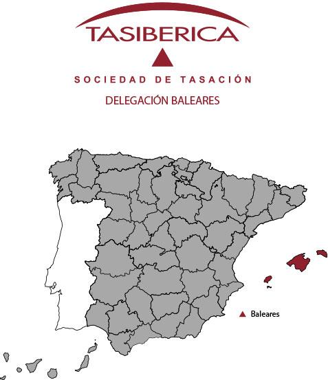 tasiberica tasaciones Delegacion Baleares