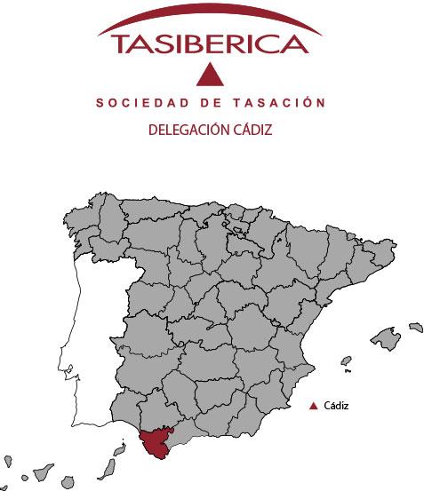 tasiberica tasaciones Delegacion Cadiz