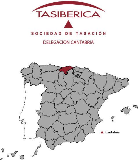 tasiberica tasaciones Delegacion Cantabria