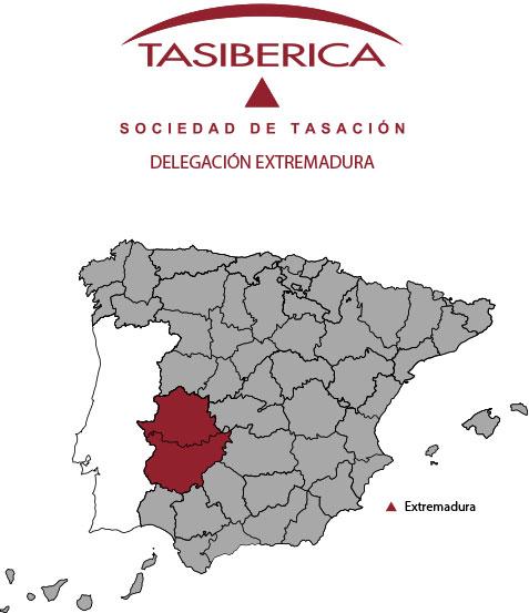 tasiberica tasaciones Delegacion Extremadura