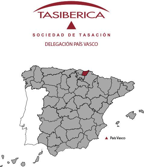 tasiberica Tasaciones delegación País Vasco