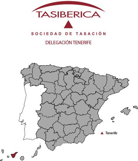 tasibérica Tasaciones delegación Tenerife