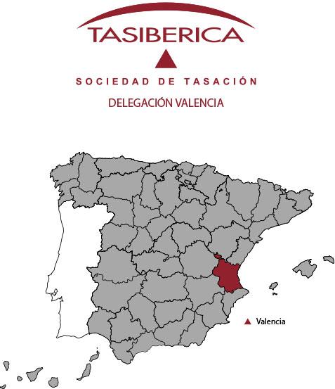 tasibérica Tasaciones delegación Valencia