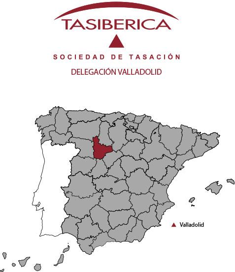 tasiberica Tasaciones delegación Valladolid