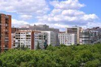 Edificios en Paseo de la Castellana, Madrid